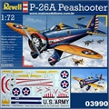 P-26A PEASHOOTER - Revell - 1/72
