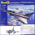 Eurofighter TYPHOON (Twin Seater) - Revell - 1/144