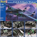 Northrop P-61 A/B Black Widow - Revell - 1/48