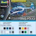 Helicóptero H145 Police Airbus - Revell - 1/32