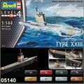 Submarino German TYPE XXIII - Revell - 1/144