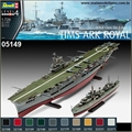 Destroyer TRIBAL Class e Porta-Aviões HMS Ark Royal - 2 Kits Revell - 1/700