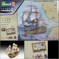 Caravela Victory - Battle of Trafalgar - Gift-Set Revell - 1/225