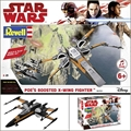 STAR WARS - Poes Boosted X-Wing Fighter - Revell - 1/78