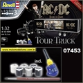 Caminhão AC/DC Tour Truck - Model-Set Revell - 1/32