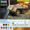 sWS with 15 cm Panzerwerfer 42 - Revell - 1/72