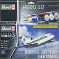 BOEING 727-100 Germania Airways - Model-Set Revell - 1/144