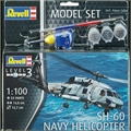Helicóptero SH-60 Sea Hawk Navy - Model-Set Revell - 1/100