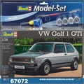 Volkswagen GOLF 1 GTI - Model Set Revell - 1/24