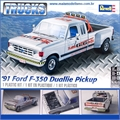 1991 - Ford F-350 Duallie Pickup - Revell - 1/24