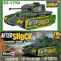 COMBAT - AFTER SHOCK PANZER TANK - Snap Tite Revell - 1/48