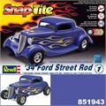 1934 - FORD STREET ROD (Snap) - Revell - 1/25
