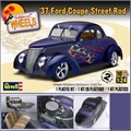 1937 - FORD COUPE STREET ROD - Revell - 1/24