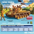 M42 TWIN FORTY - Renwal-Revell - 1/32