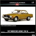 1977 - Mercedes-Benz 350SL - Sunstar - 1/18