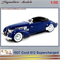 1937 - CORD 812 Supercharged - Signature - 1/32
