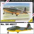 Gloster E.28/39 Pioneer First British Jet - Special Hobby - 1/48