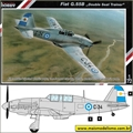 FIAT G.55B Double Seat Trainer - Special Hobby - 1/72