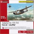 Heinkel He 178 V-2 First Jet Long Wing - Special Hobby - 1/72