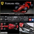 F-1 FERRARI F60 - com Photo Etched - Tamiya - 1/20