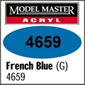 Tinta Model Master 4659 Acryl AZUL FRANCES Brilho - 14,7ml