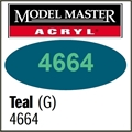 Tinta Model Master 4664 Acryl TEAL GP00570 BRILHO - 14,7ml