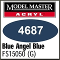 Tinta Model Master 4687 Acryl AZUL BLUE ANGELS Brilho FS15050 - 14,7ml