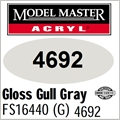 Tinta Model Master 4692 Acryl CINZA GULL Brilho FS16440 - 14,7ML