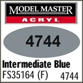 Tinta Model Master 4744 Acryl AZUL INTERMEDIARIO Fosco FS35164 - 14,7ml