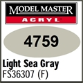 Tinta Model Master 4759 Acryl CINZA MAR CLARO Fosco FS36307 - 14,7ml