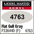 Tinta Model Master 4763 Acryl CINZA GULL Fosco FS36440 - 14,7ml