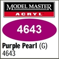 Tinta Model Master 4643 Acryl ROXO PEROLA BRILHO - 14,7ml