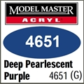 Tinta Model Master 4651 Acryl DEEP PEARLESS PURPLE BRILHO - 14,7ml