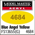 Tinta Model Master 4684 Acryl AMARELO BLUE ANGELS BRILHO FS13655 - 14,7ml