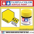 Tinta Acrílica Tamiya Mini X-24 - CLEAR YELLOW - 10ml