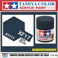 Tinta Acrílica Tamiya Mini XF-17 - SEA BLUE Fosco - 10ml