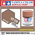 Tinta Acrílica Tamiya Mini XF-28 - DARK COPPER - 10ml