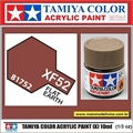 Tinta Acrílica Tamiya Mini XF-52 - Flat EARTH Fosco - 10ml