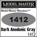 Tinta Model Master 1412 LACA DARK ANODONIC GRAY Metalizer - 14,7ml