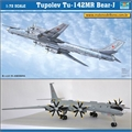 Tupolev Tu-142MR BEAR-J - Trumpeter - 1/72