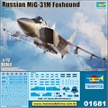 Russian MiG-31M Foxhound - Trumpeter - 1/72