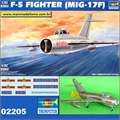 F-5 Fighter MiG-17F Fresco Russian Fighter - Trumpeter - 1/32