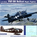 F6F-5N Hellcat Night Fighter - Trumpeter - 1/32
