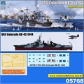 USS Colorado BB-45 1944 - Trumpeter - 1/700