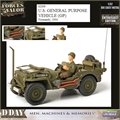 US Jeep GP Vehicle (1944) - UNIMAX - 1/32