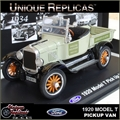 1920 - FORD MODEL T PICK UP VAN - Unique - 1/32