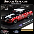 1969 - FORD MUSTANG 302 Racer 01 Vermelho - Unique - 1/38