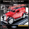 1935 - Ford SEDAN Delivery Van Bombeiro - Unique - 1/36