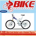 Bicicleta AUDI DESIGN CROSS Azul - Welly - 1/10