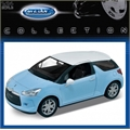 2010 - CITROEN DS3 AZUL - Welly - 1/24